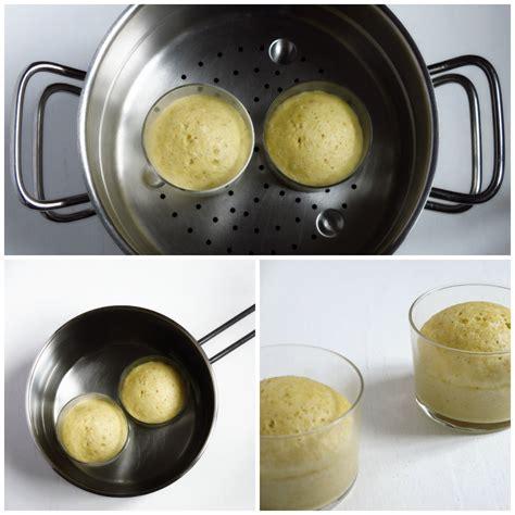 cuisiner avec un micro onde petits gâteaux à la vapeur artichaut et cerise