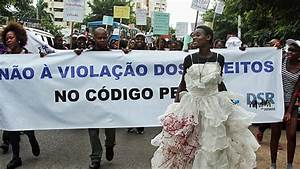 Mozambique activists protest against rape law | News | Al ...