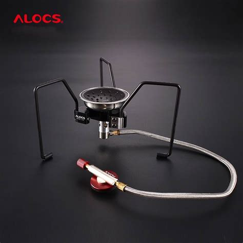 alocs outdoor folding spider style burners cooking furnace