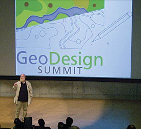 designing geodesign arcnews spring  issue