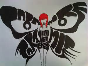 Paramore Brand New Eyes Butterfly