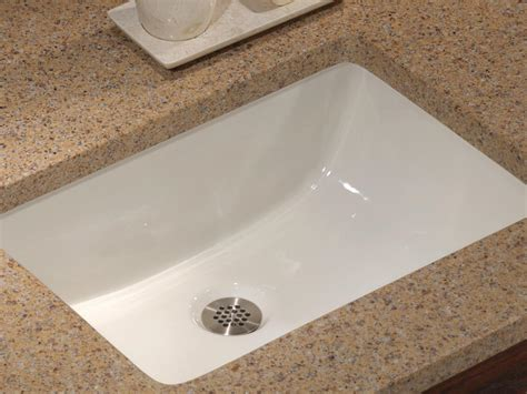 drop in bathroom sink vs undermount bathroom vanity sinks hgtv