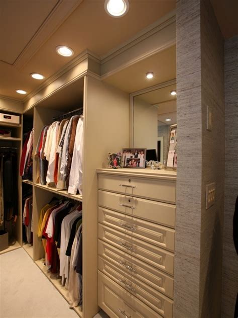 built in dresser in the closet remodeling ideas