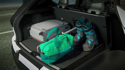 volvo xc foldable cargo floor  storage youtube