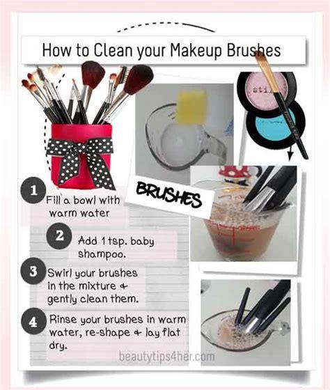 Best Way To Clean Your Makeup Brushes  Saubhaya Makeup