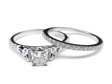 celtic knot rings wedding promise