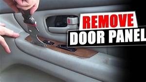 How To Remove The Front Door Panel Lexus Es300