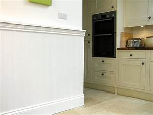 Wall panels interior tongue and groove effect panels for Tongue and groove wall panelling for bathrooms