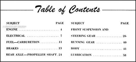 Nash Repair Shop Manual Original Supplement