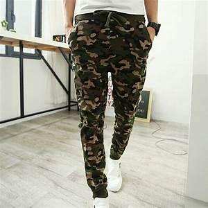 Camouflage Pants 2015 Mens Joggers/Jogging Pants Men Casual Hip Hop Sport Harem Pantalones ...