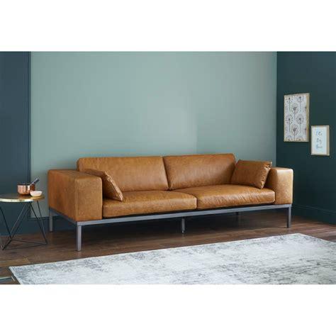 divano cuoio divano in cuoio color cammello 4 posti wellington