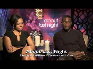 """Sam Sylk with Kevin Hart And Regina Hall """"About Last Night ..."""