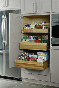deep roll trays in pantry top unit schrock cabinetry With kitchen cabinets lowes with permit box stickers