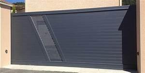 Portail En Aluminium : menuiserie alu en indre et loire portail alu gri ~ Melissatoandfro.com Idées de Décoration