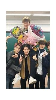 NCT Continues Cute Group Tradition At Mark's High School ...