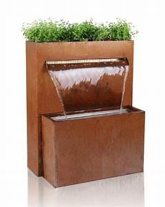 Gartenbrunnen Aus Cortenstahl : die besten 17 ideen zu gartenbrunnen auf pinterest wasserelemente im freien wasserspiele und ~ Sanjose-hotels-ca.com Haus und Dekorationen