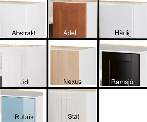 types of kitchen cabinets materials installing ikea upper kitchen cabinets cabinet doors
