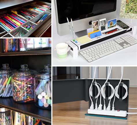 Desk Organization Ideas For Work by Home Office Organization Ideas Homesjournal Xyz