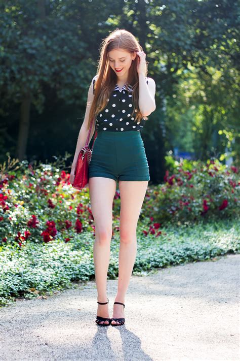 Outfit | Vintage Polka Dots in the Heat Wave - Retro Sonja