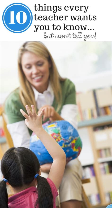 10 Things Every Teacher Wants You To Know  Parents, The O'jays And Teaching