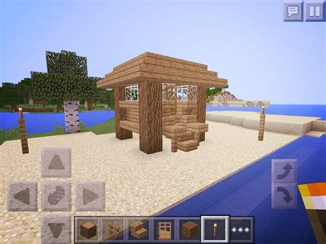 mcpe beach house minecraft amino