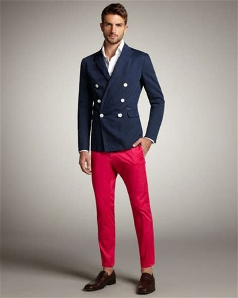 Menu0026#39;s Red Pants Inspiration   Famous Outfits