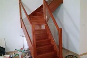 Escalier Extérieur En Bois : fabrication d 39 un escalier en bois exotique tourbes les ~ Dailycaller-alerts.com Idées de Décoration