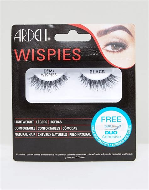 ardell demi wispies lashes blk asos