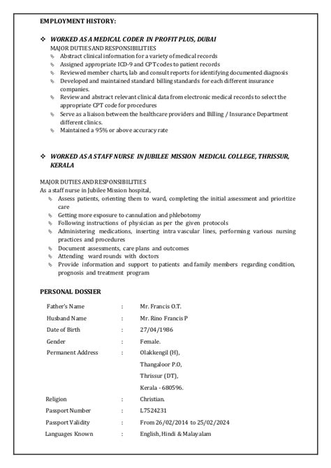resume coder