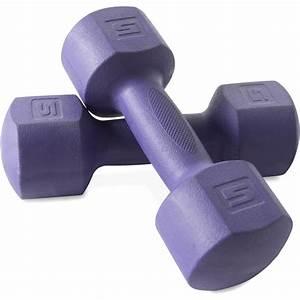 Cap Fitness 10 Lb Eco Dumbbell Pair - Walmart Com