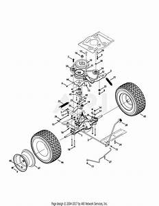 Mtd 13b326jc758  2014  Parts Diagram For Drive System