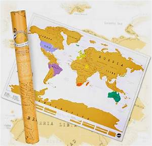 Scratch Travel Map of the World » Gadget Flow