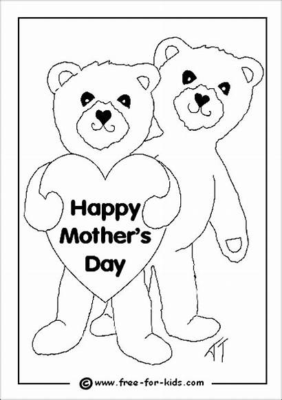 Mothers Colouring Coloring Pages Printable Mother Wild