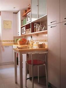 Küchentisch Kleine Küche : 10 praktische esstisch ideen f r ihre kompakte k che k che kleine k che kleine k che ~ Watch28wear.com Haus und Dekorationen