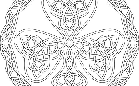 celtic design coloring pages  getcoloringscom