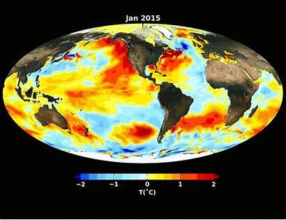 El Nasa Ocean Nino Pacific Normal Winter