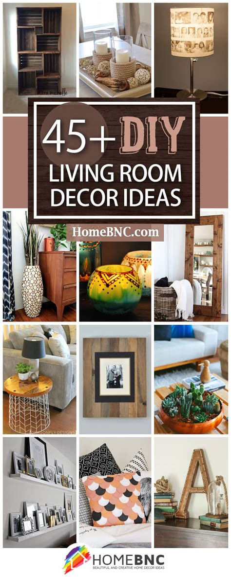 45+ Best Diy Living Room Decorating Ideas And Designs For 2018