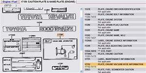 Do You Have A Vacuum Hose Information Diagram For A Toyota