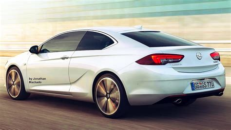 Opel Monza 2020 by Render New 2017 Opel Insignia Coupe New Opel Monza