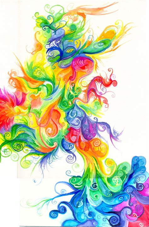 Art Pastel Rainbow Colors