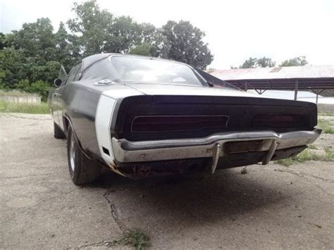 sell new 1969 dodge charger r t project car real rt 440 a c car 68 70 in pleasant lake michigan