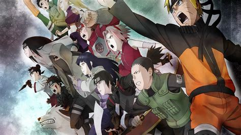1280x720 Naruto Group Desktop Pc And Mac Wallpaper