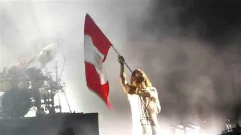 30 seconds to mars do or die en lima peru peruvian flag bandera peruana youtube