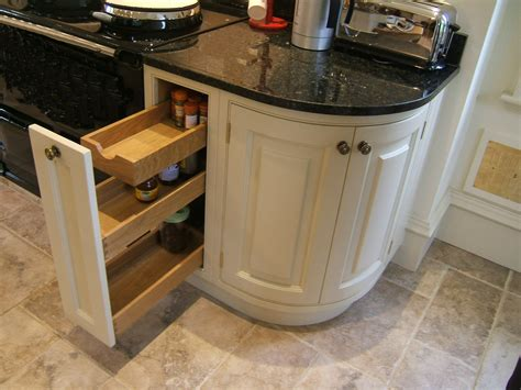the curved kitchen cabinets is the best solution to