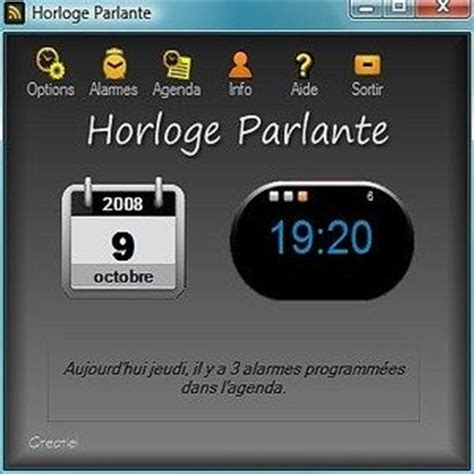 horloge bureau windows xp télécharger horloge parlante 3000 pour windows shareware
