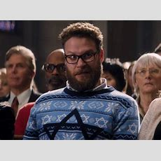 The Night Before Trailer Seth Rogen Trips Out In Church After Taking Mushrooms And Miley Cyrus