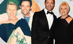 Hugh Jackman shares throwback photo of him and wife