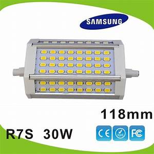 R7s Led 118mm 30w : dhl free shipping 10pcs lot 30w 118mm led r7s light samsung 5630smd j118 r7s lamp replace 300w ~ Frokenaadalensverden.com Haus und Dekorationen