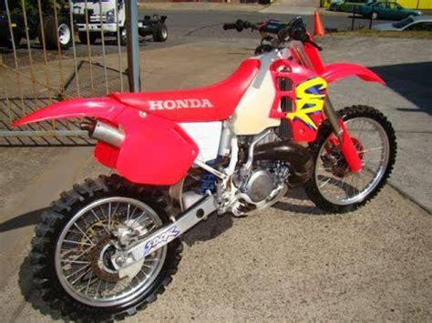Honda Cr500 1994 Youtube