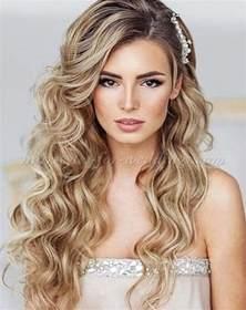 Down Wedding Hairstyles Long Hair